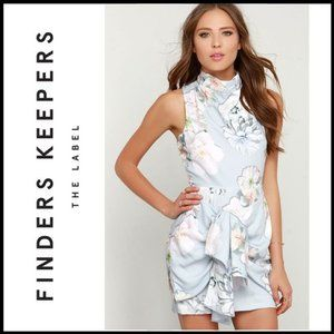 FINDERS KEEPERS Earthly Treasures Floral Dress XXS